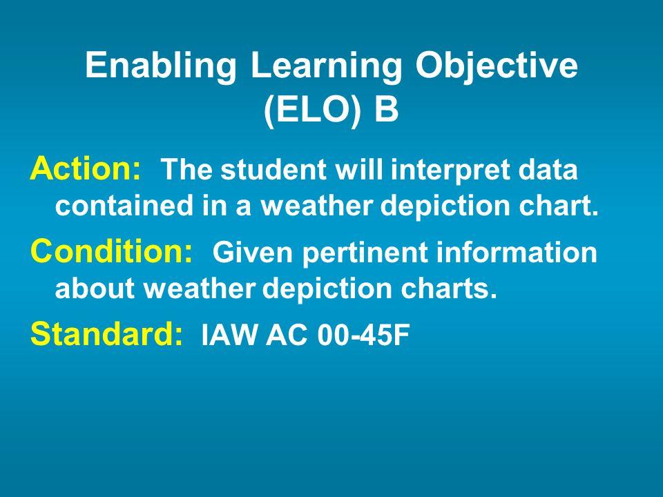 Enabling Learning Objective (ELO) B