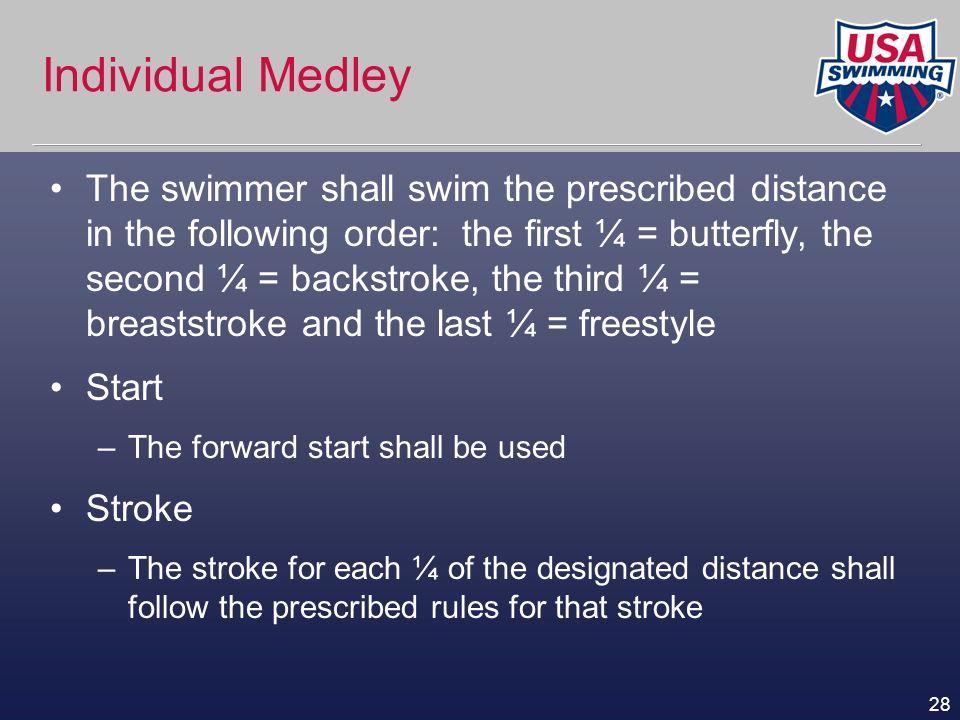 Individual Medley