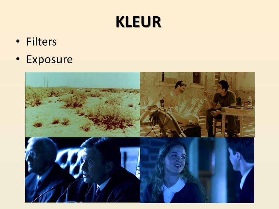 KLEUR Filters Exposure