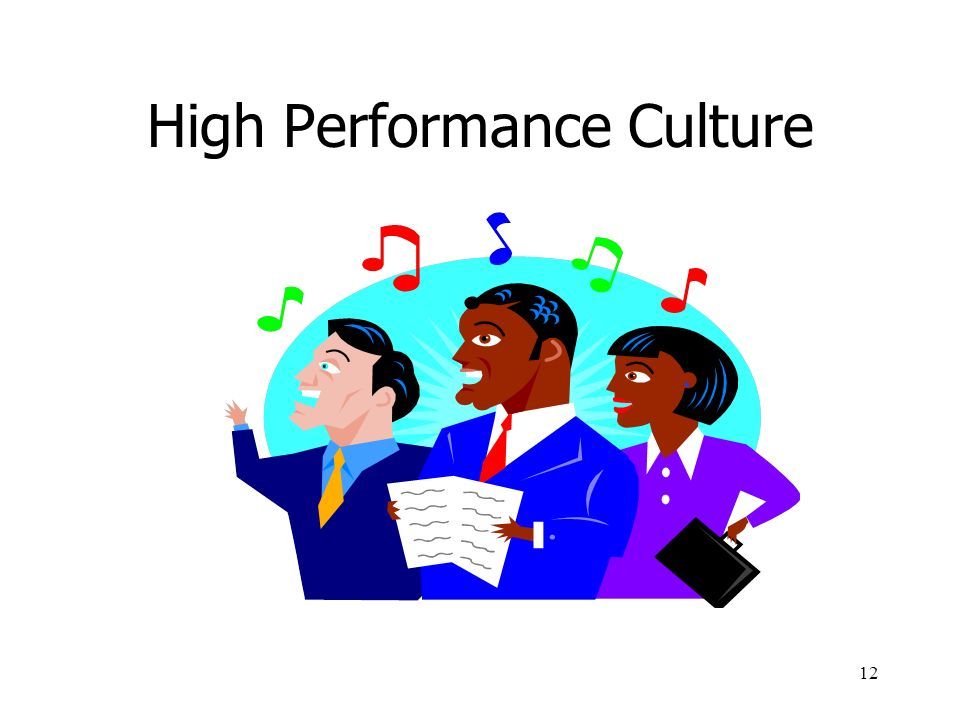 High Performance Culture