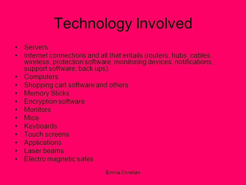 Technology Involved Servers