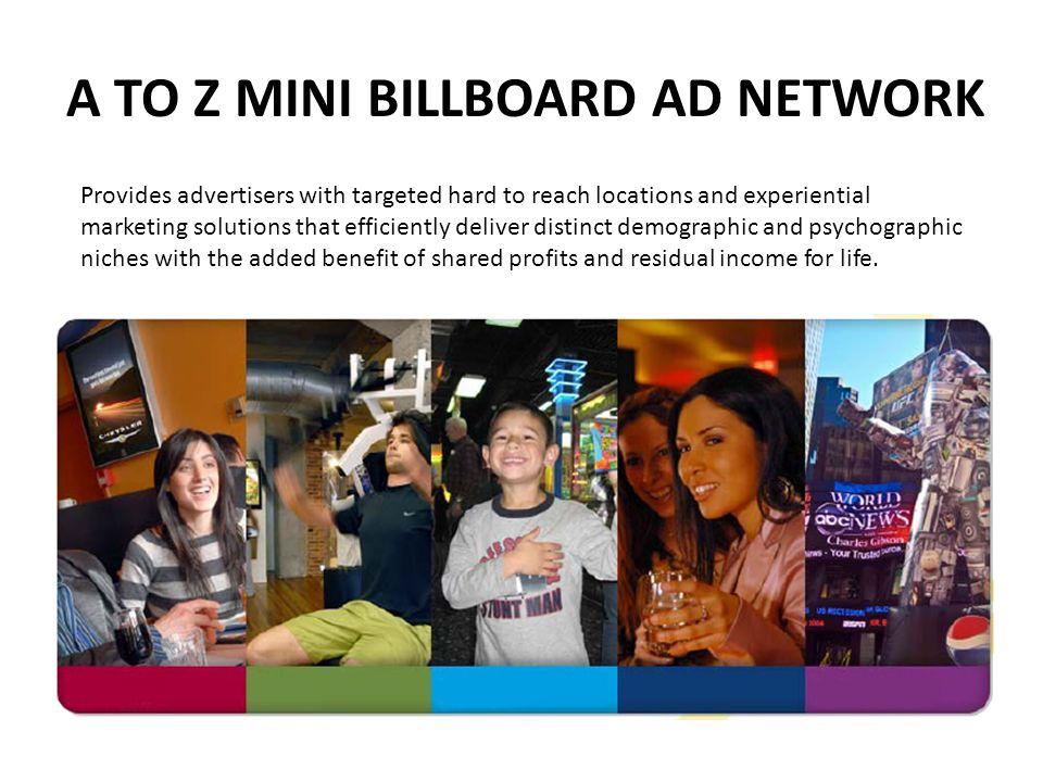 A TO Z MINI BILLBOARD AD NETWORK