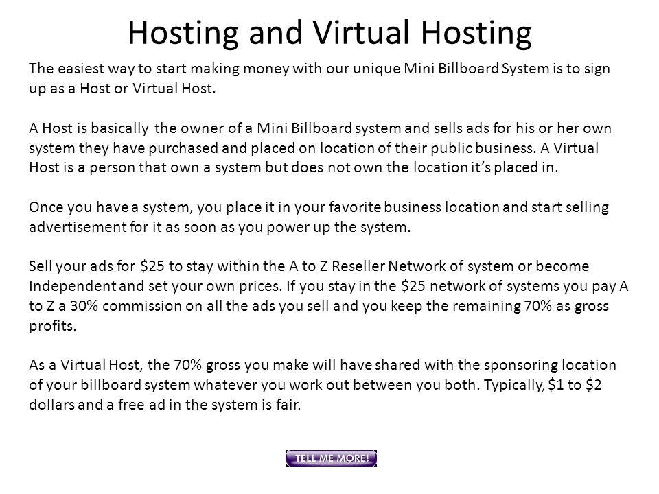 Hosting and Virtual Hosting