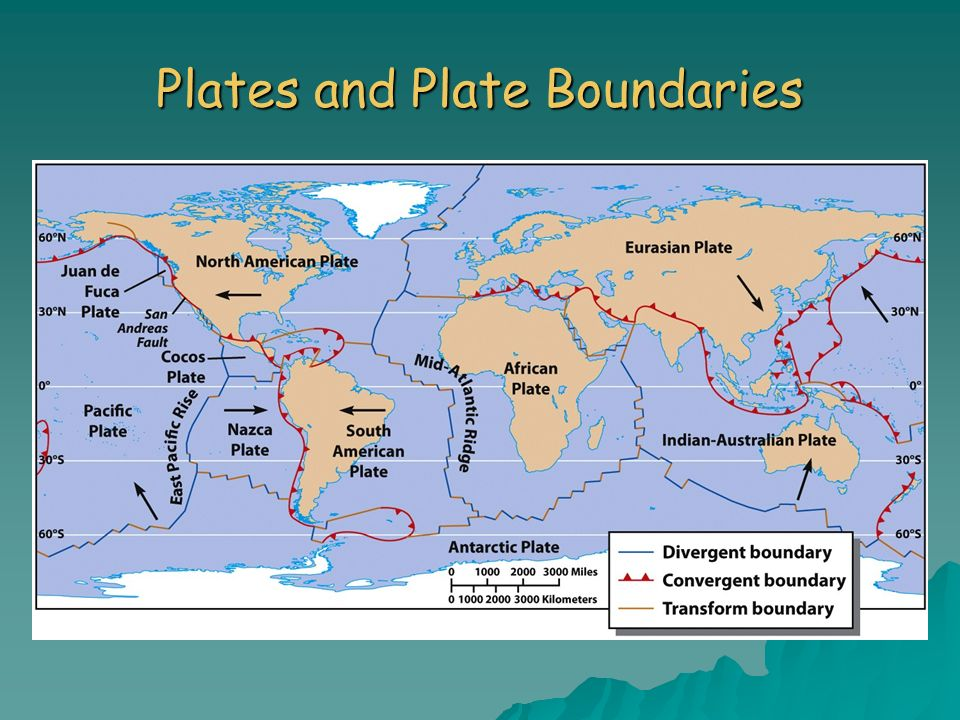 Plates and Plate Boundaries