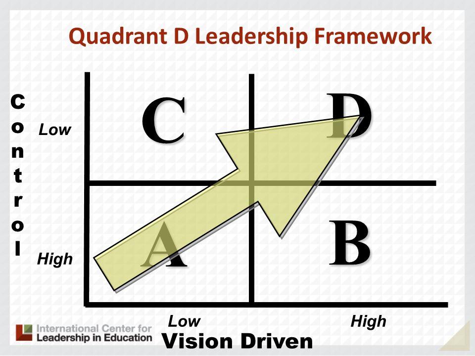 Quadrant D Leadership Framework