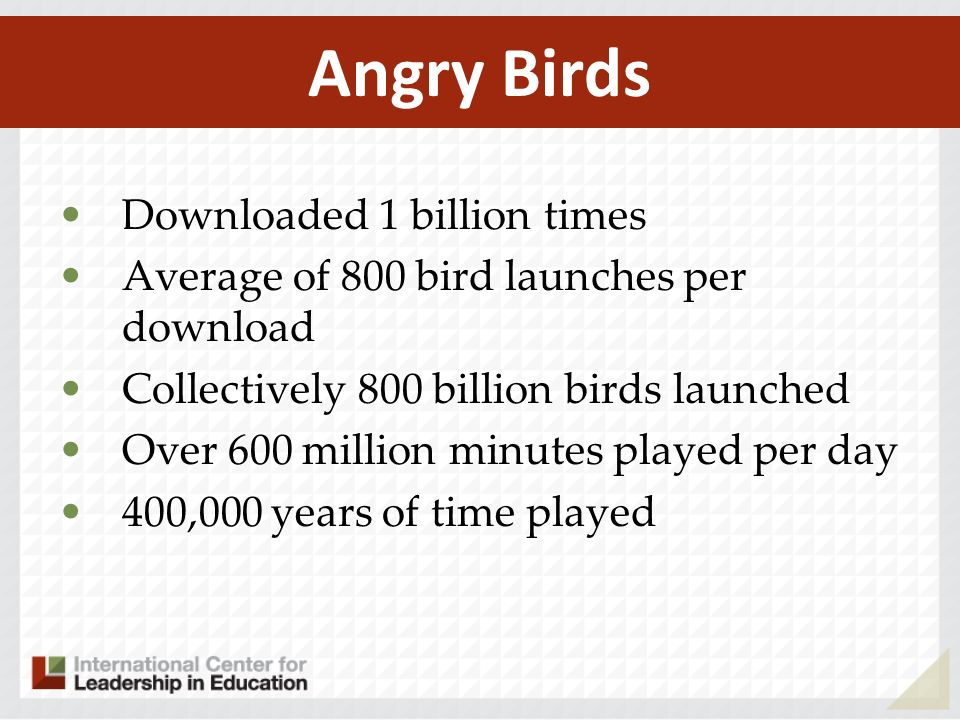 Angry Birds Downloaded 1 billion times