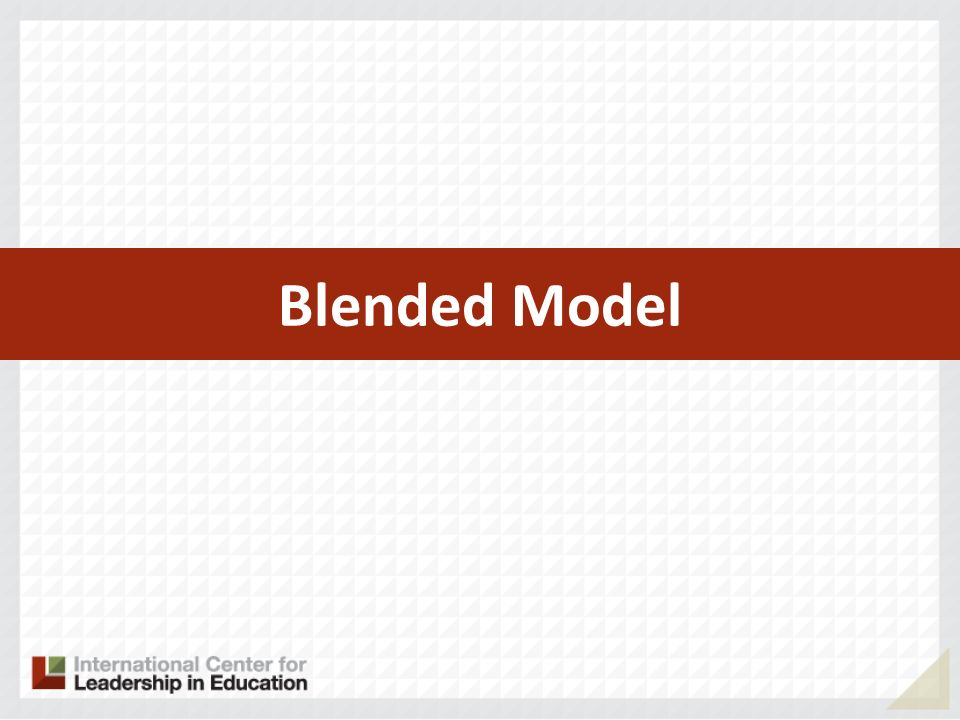 Blended Model