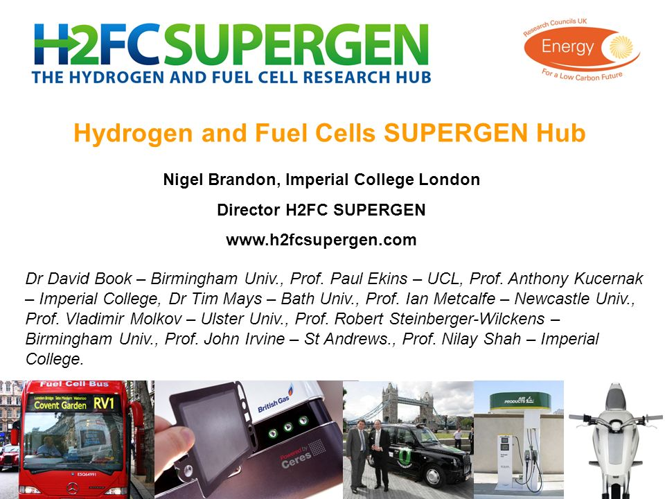 Hydrogen and Fuel Cells SUPERGEN Hub