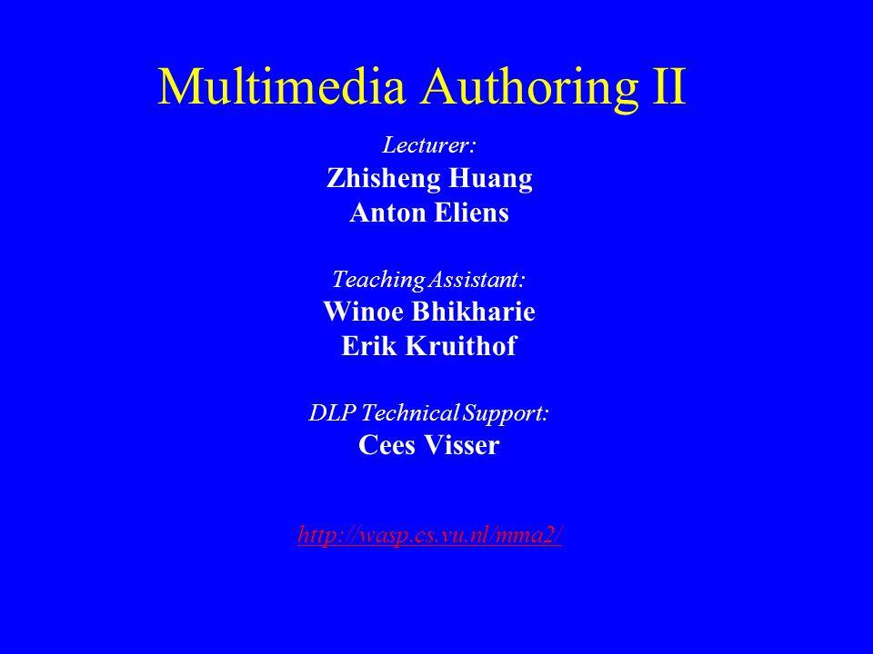 Multimedia Authoring II