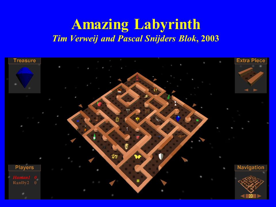 Amazing Labyrinth Tim Verweij and Pascal Snijders Blok, 2003