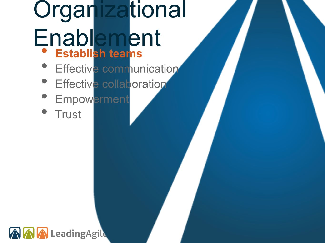 Organizational Enablement