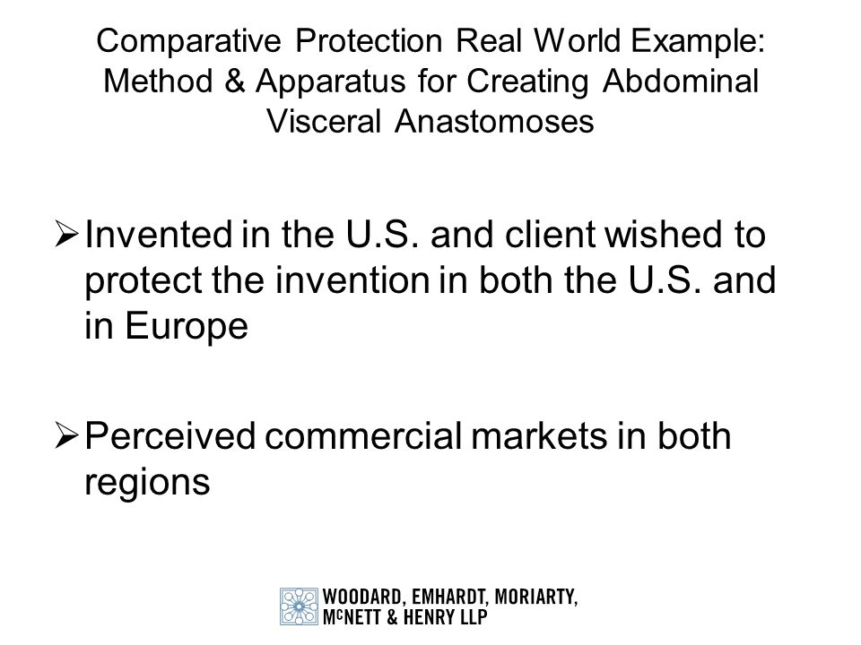 Perceived commercial markets in both regions