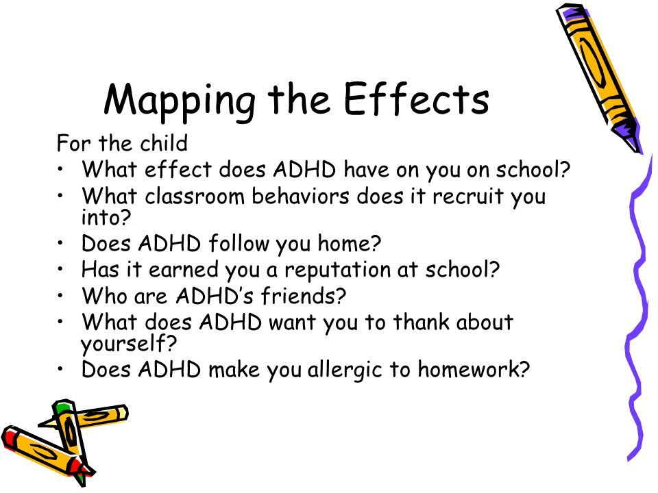 Mapping the Effects For the child