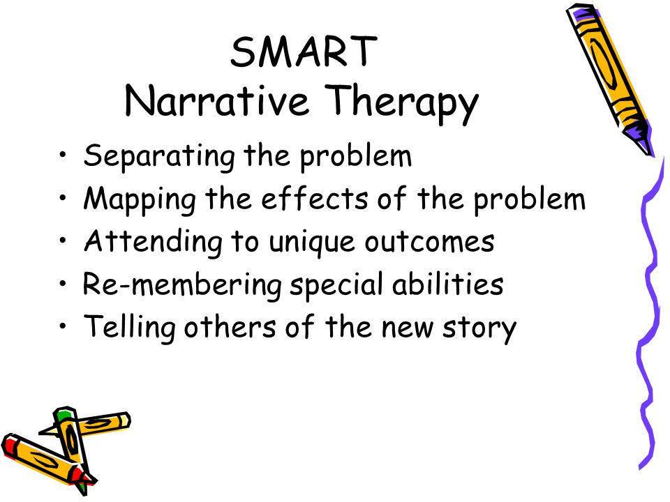 SMART Narrative Therapy