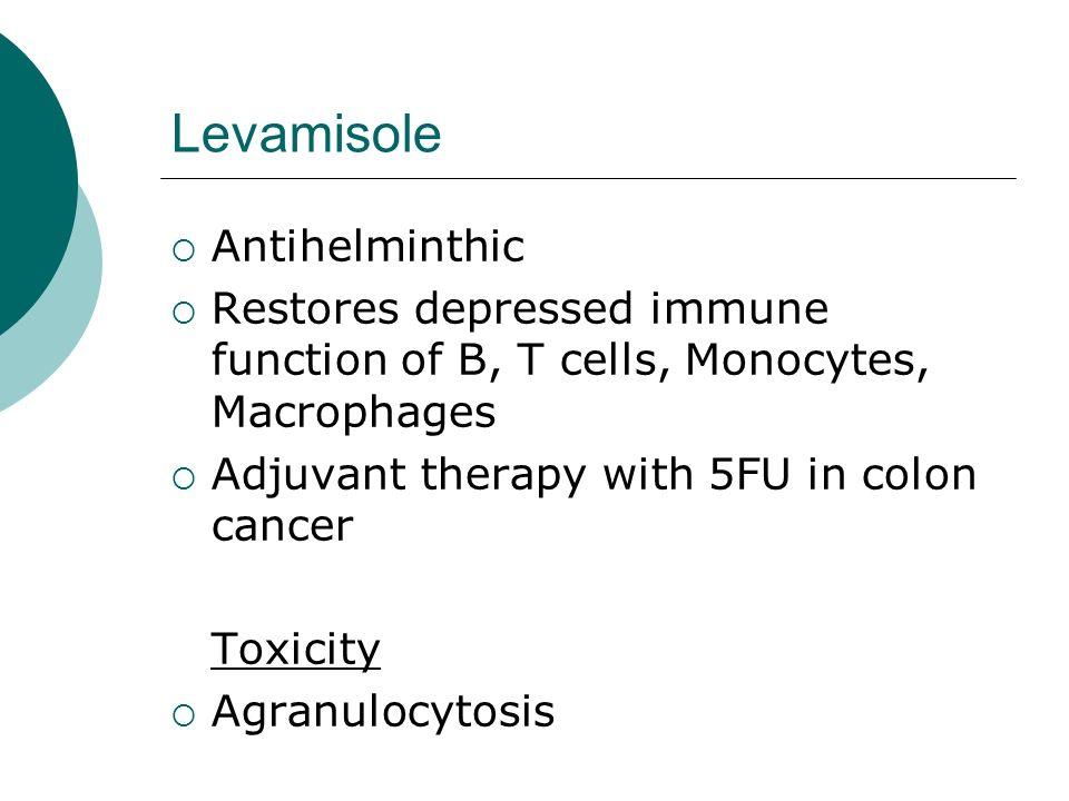 Levamisole Antihelminthic