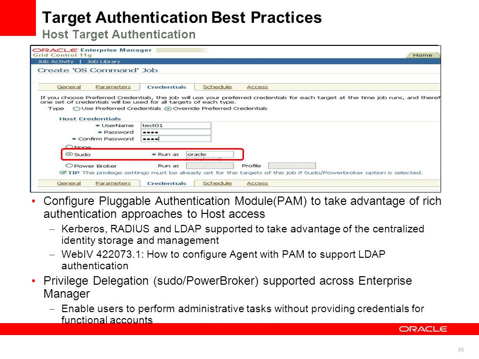 Target Authentication Best Practices Host Target Authentication