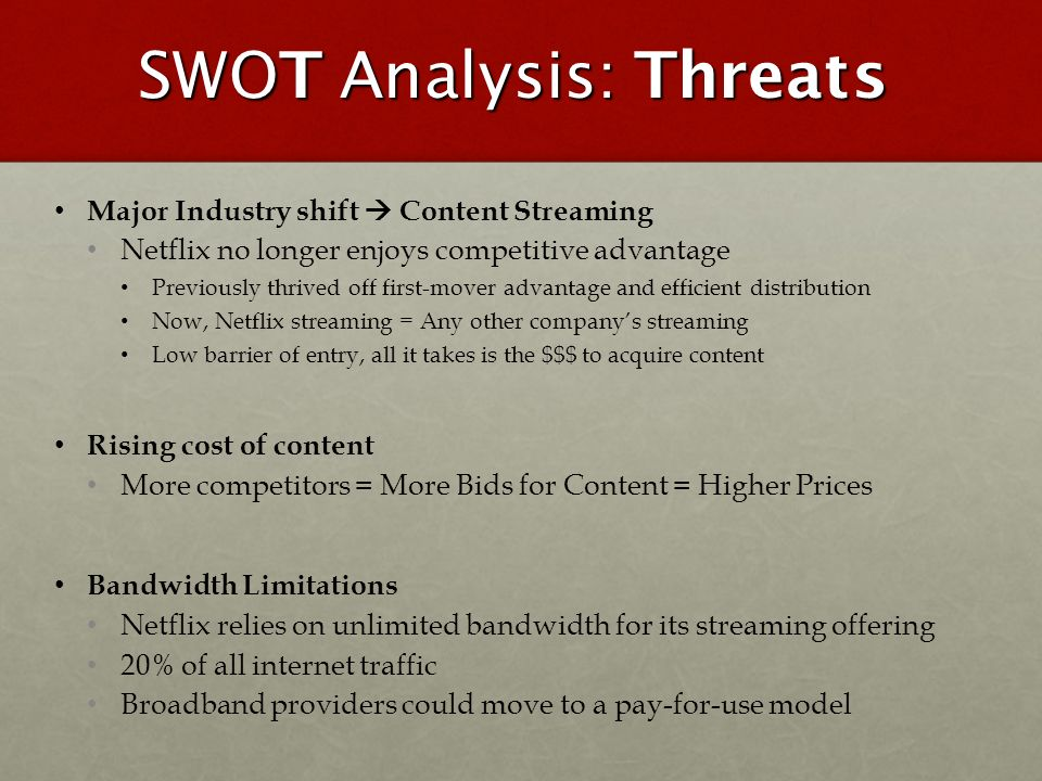 swot analysis and advantage threats Apple inc swot analysis (strengths, weaknesses, opportunities, threats): this case study discusses internal & external forces and recommendations for apple.