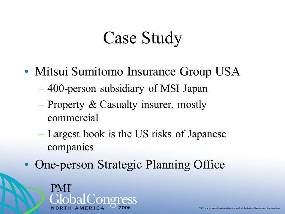 Case Study Mitsui Sumitomo Insurance Group USA