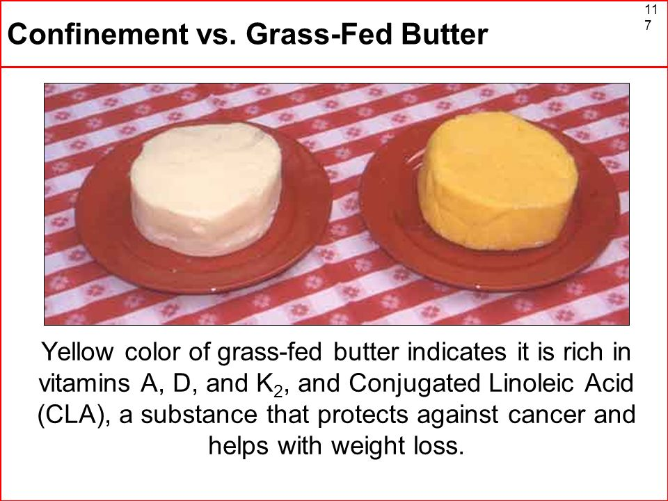 Confinement vs. Grass-Fed Butter