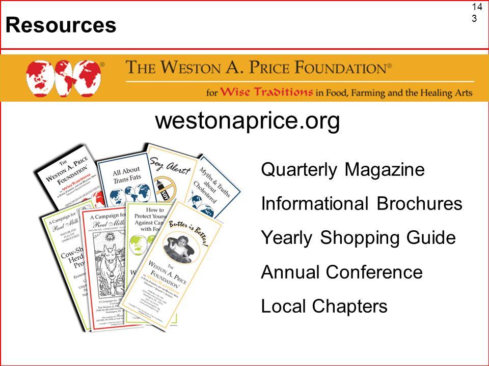 The Weston A. Price Foundation westonaprice.org