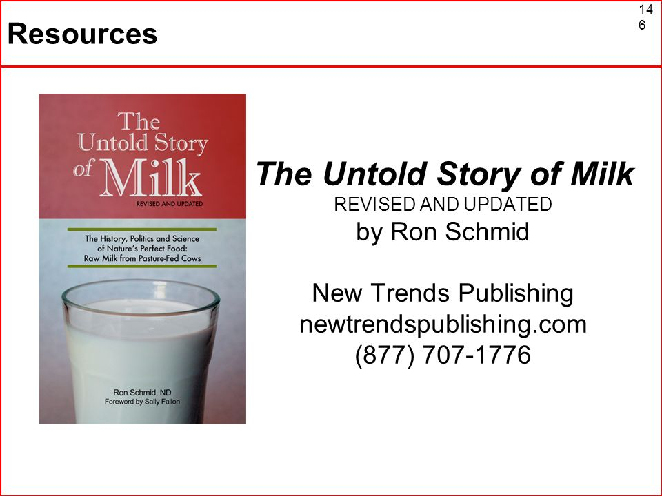 The Untold Story of Milk REVISED AND UPDATED