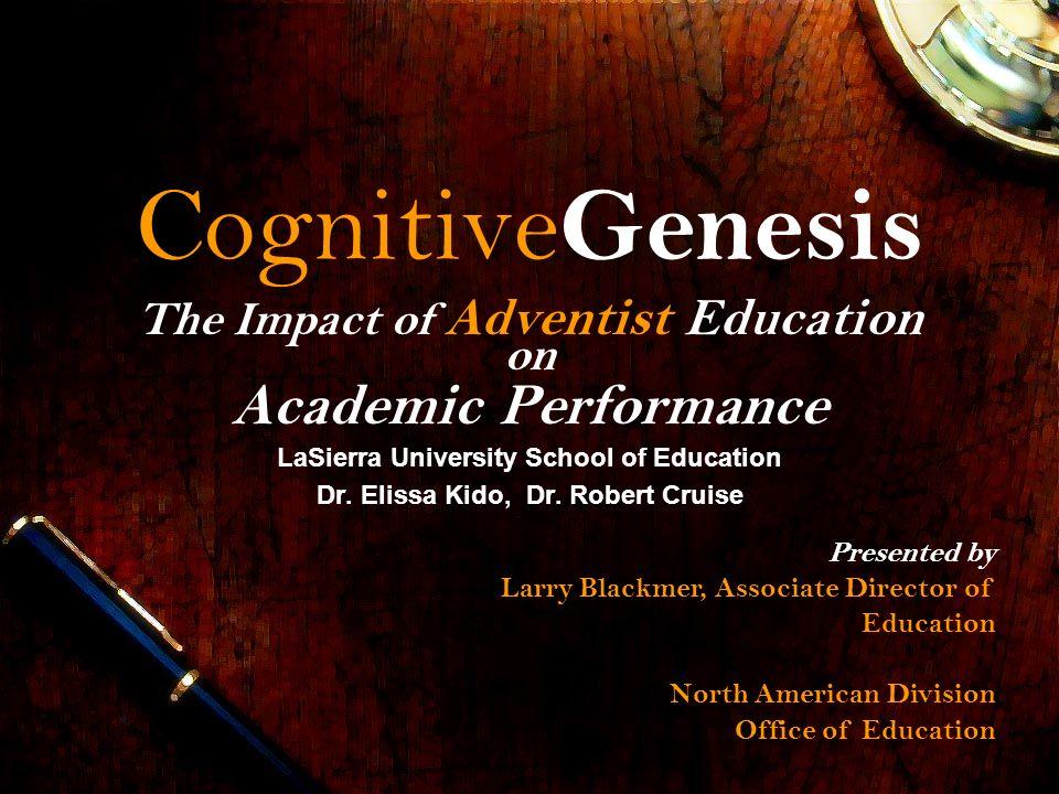 CognitiveGenesis Academic Performance