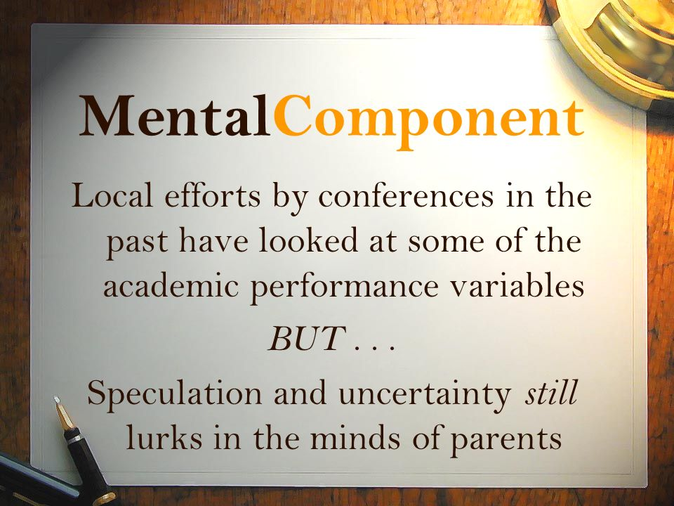 Speculation and uncertainty still lurks in the minds of parents