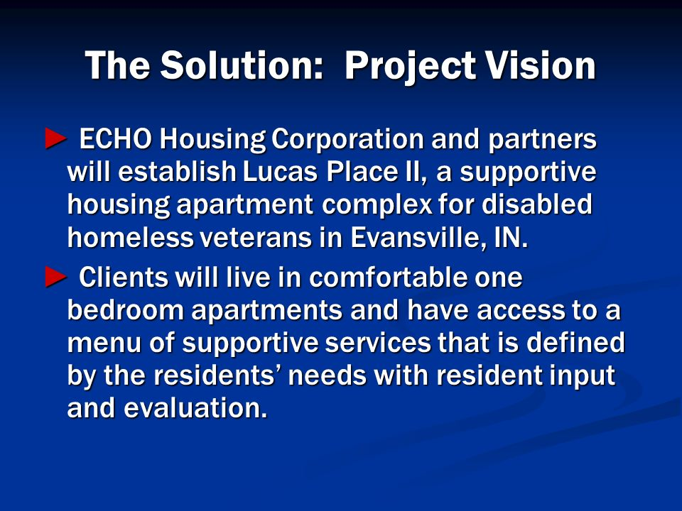 The Solution: Project Vision