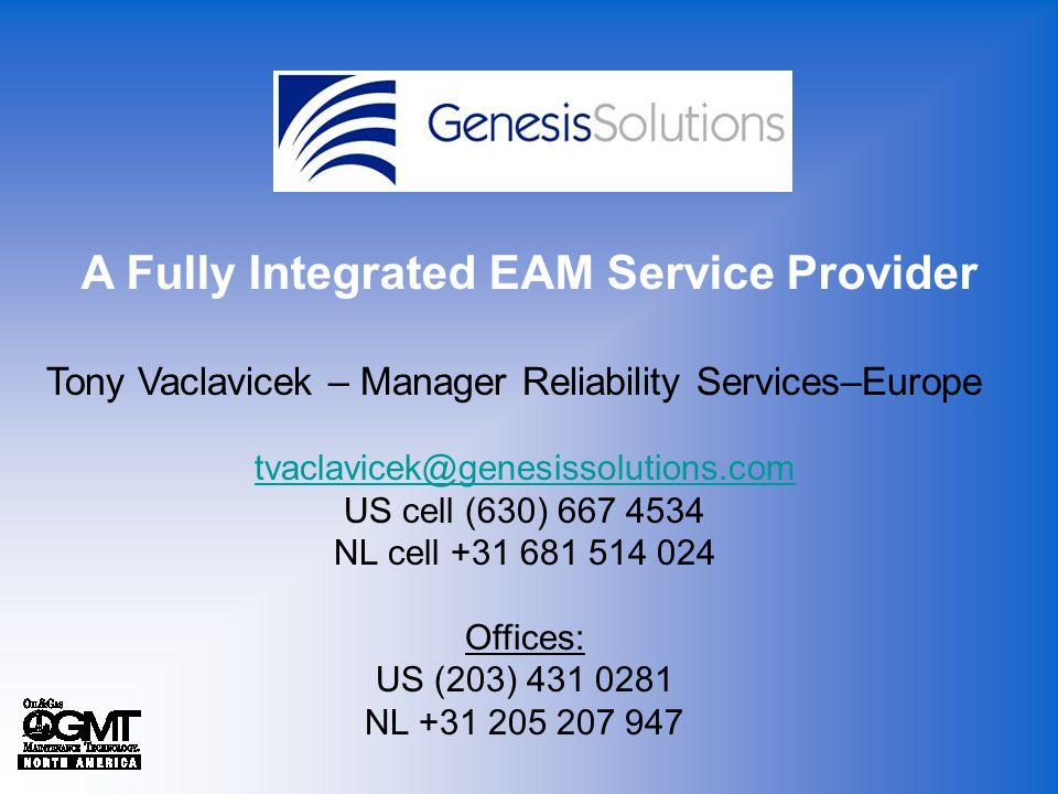 A Fully Integrated EAM Service Provider