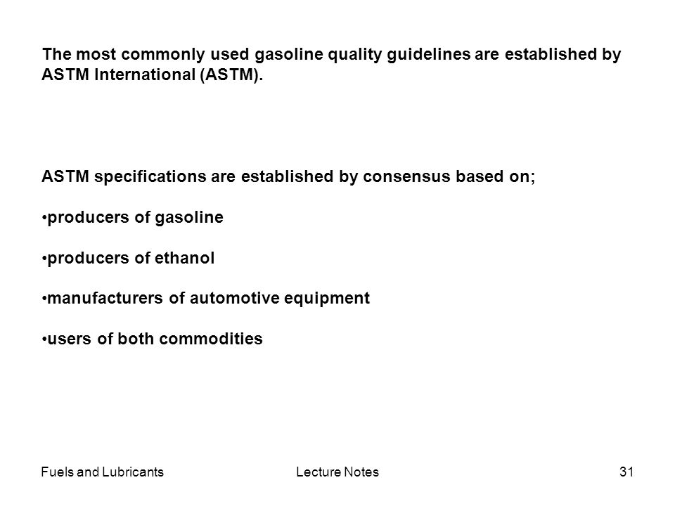 ASTM specifications are established by consensus based on;