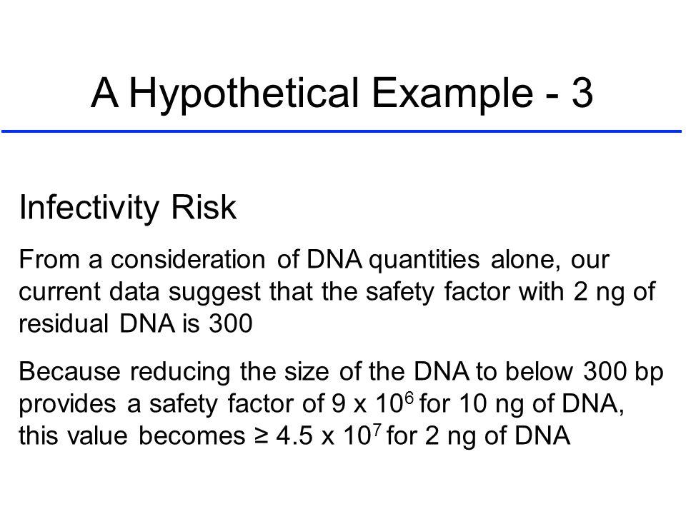 A Hypothetical Example - 3