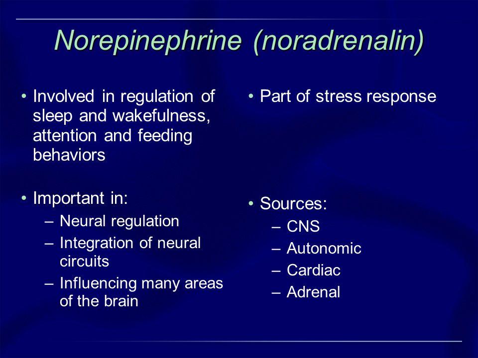 Norepinephrine (noradrenalin)