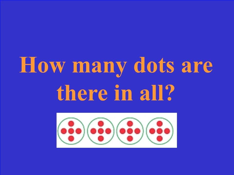How many dots are there in all