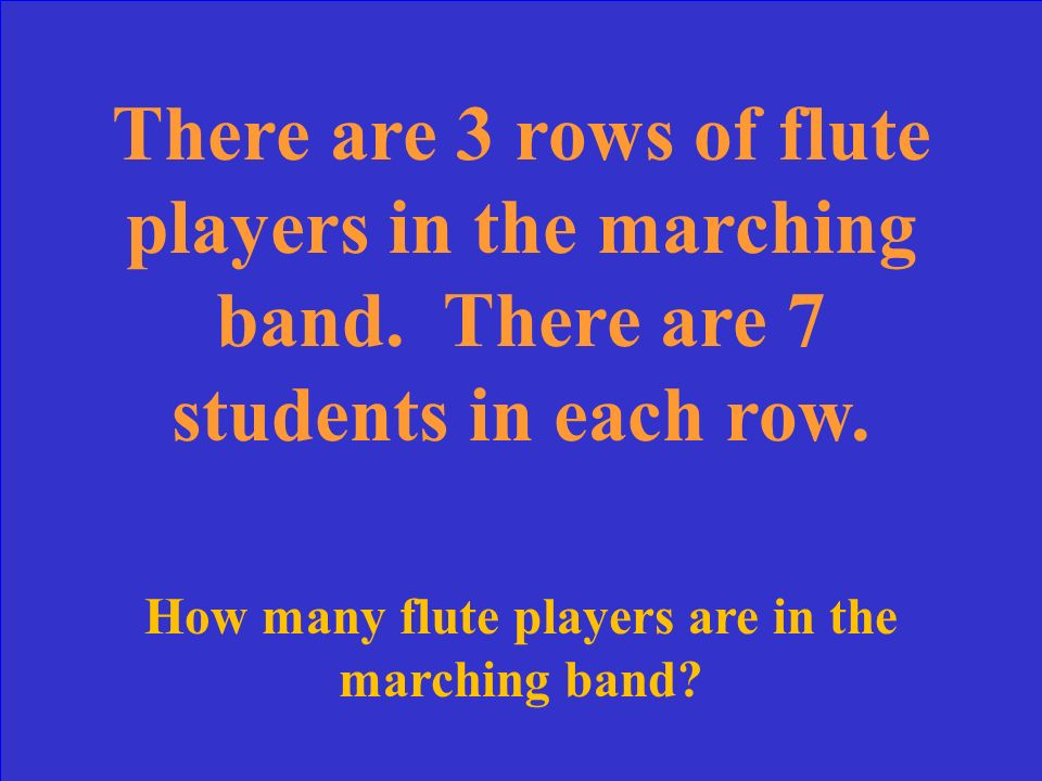 How many flute players are in the marching band