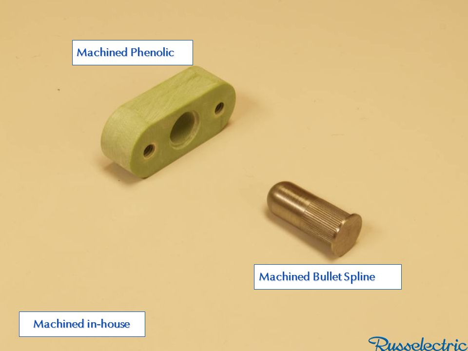 Machined Phenolic Machined Bullet Spline Machined in-house