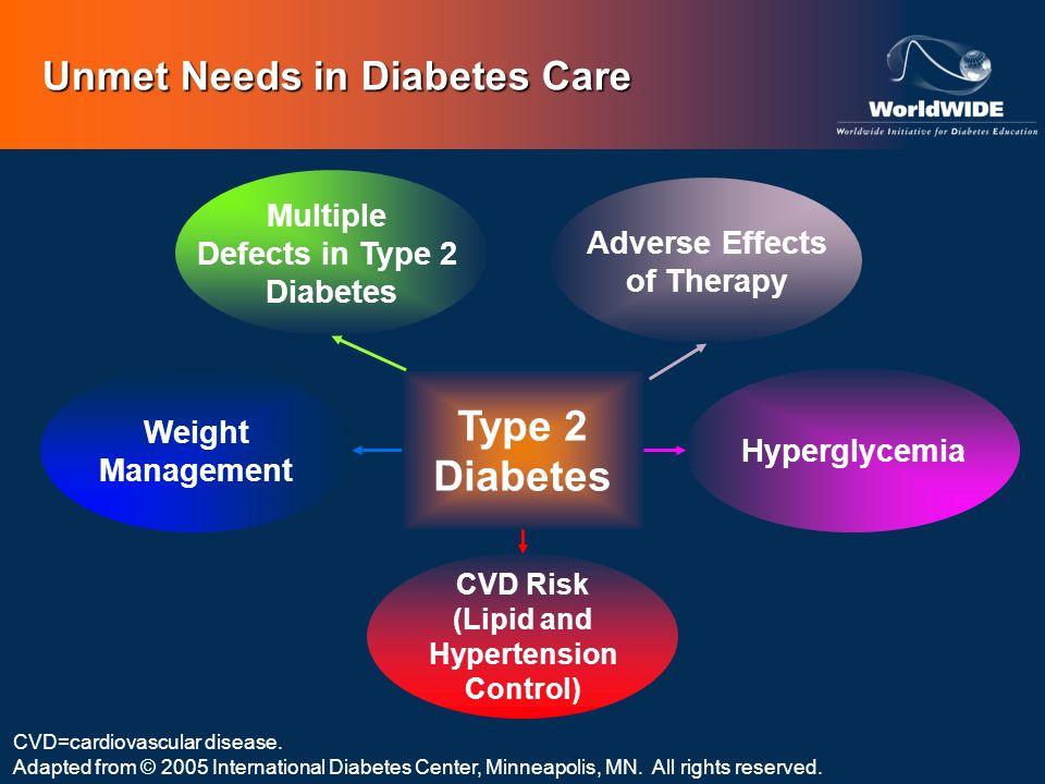 Unmet Needs in Diabetes Care