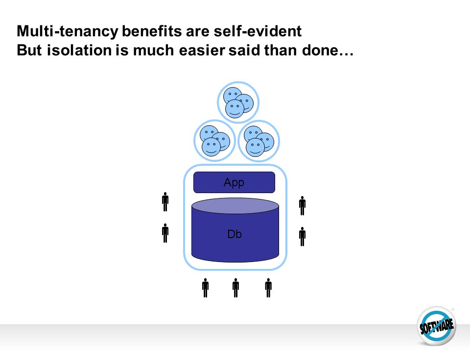Multi-tenancy benefits are self-evident But isolation is much easier said than done…