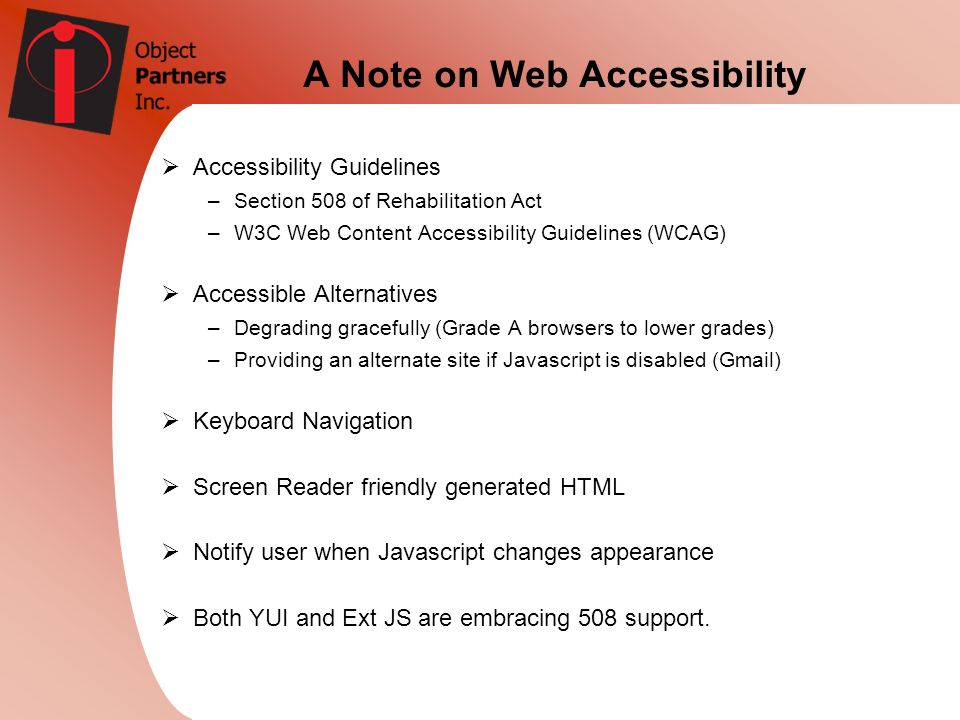 A Note on Web Accessibility