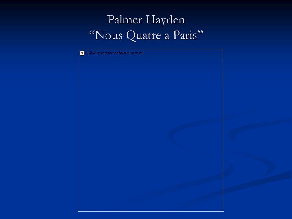 Palmer Hayden Nous Quatre a Paris