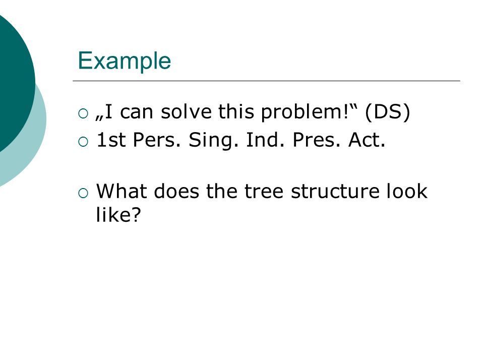 "Example ""I can solve this problem! (DS)"