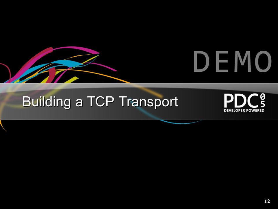 Building a TCP Transport