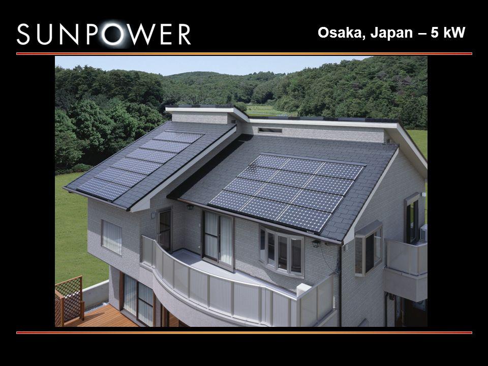 Osaka, Japan – 5 kW