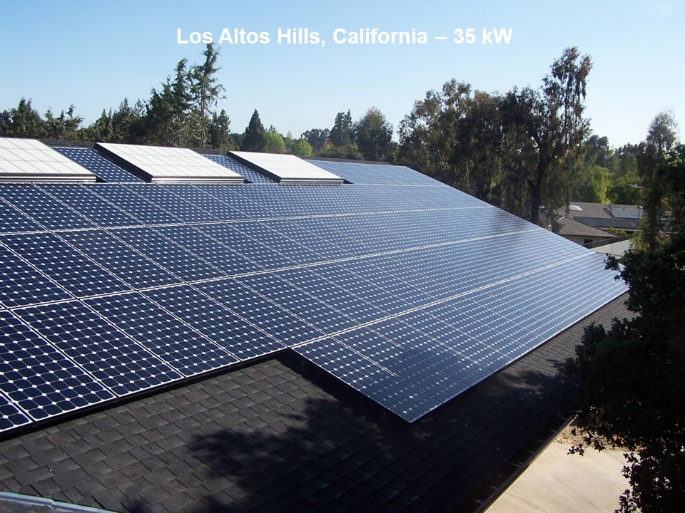 Los Altos Hills, California – 35 kW