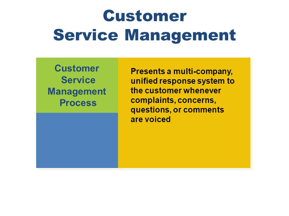 customer service management process Practical guidelines on progressing from customer service to customer relationship management.