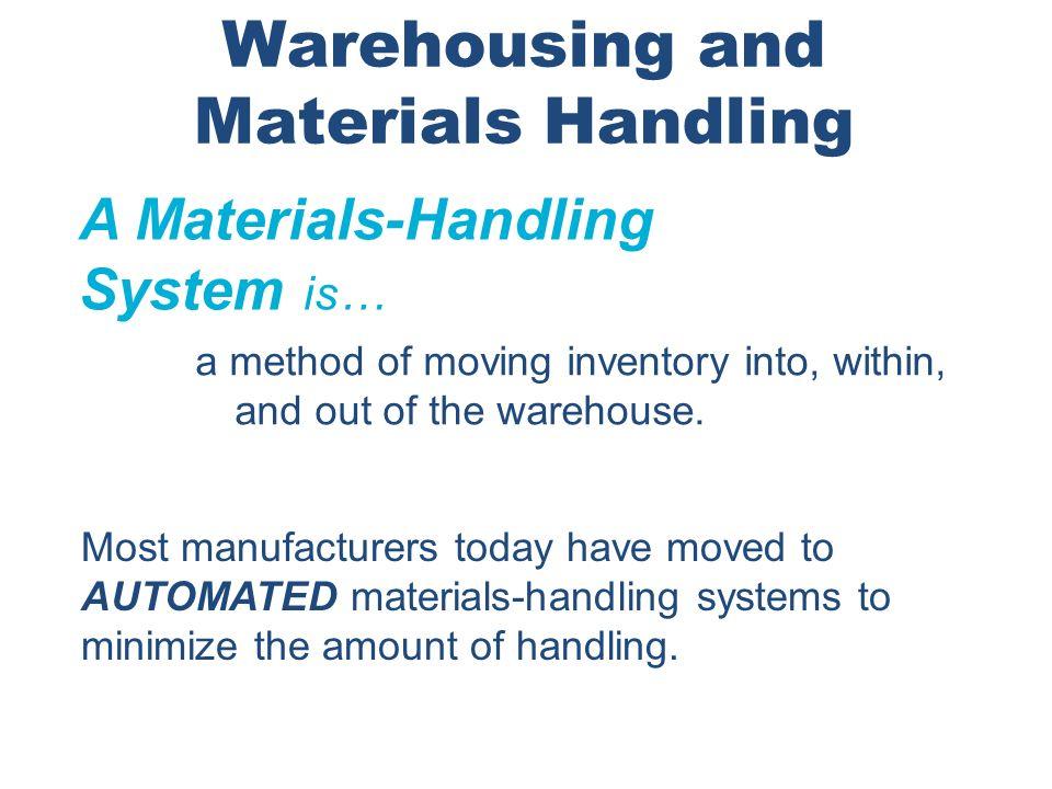 Warehousing and Materials Handling