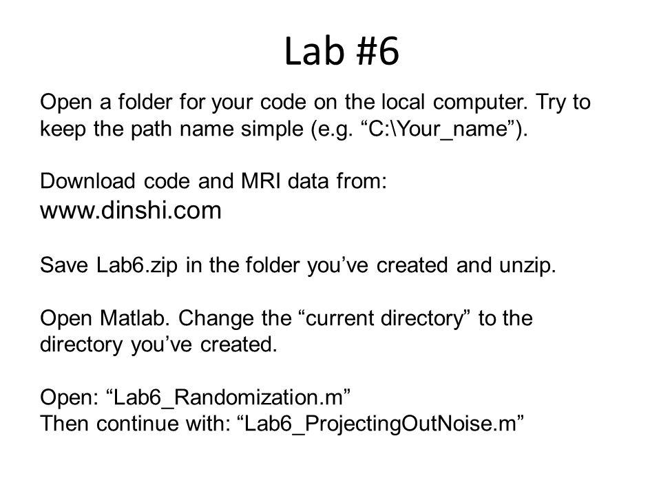 Lab #6