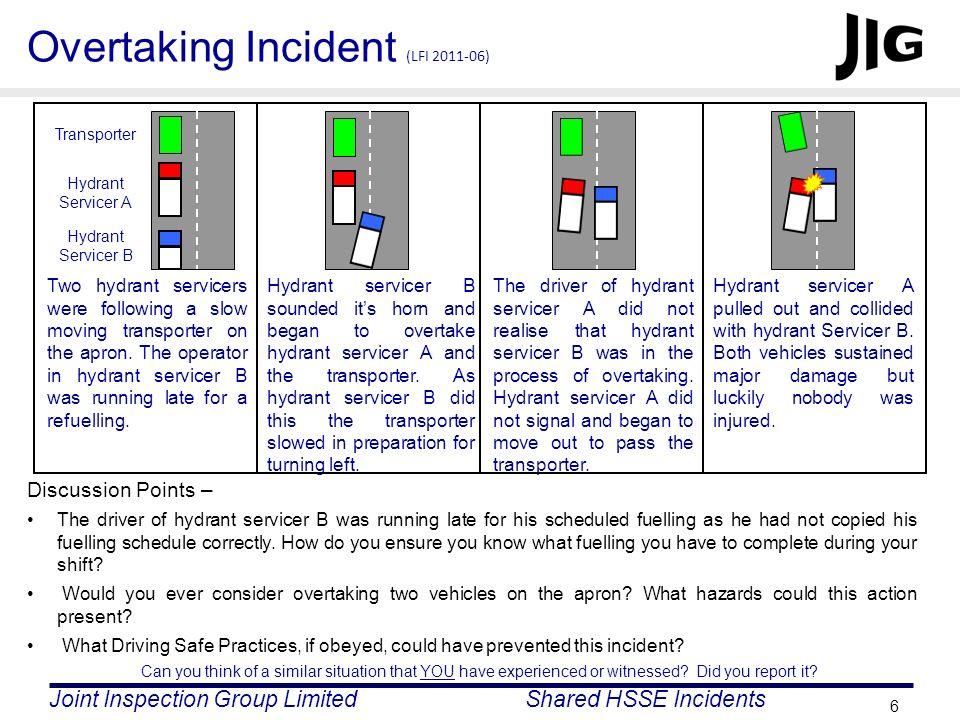 Overtaking Incident (LFI 2011-06)