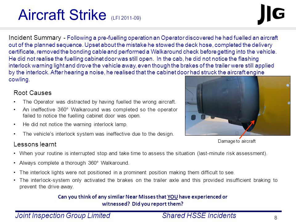 Aircraft Strike (LFI 2011-09)
