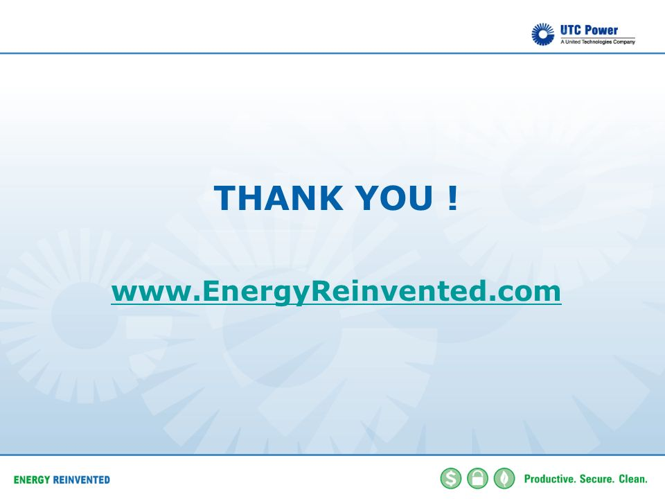 THANK YOU ! www.EnergyReinvented.com Thank you for listening.