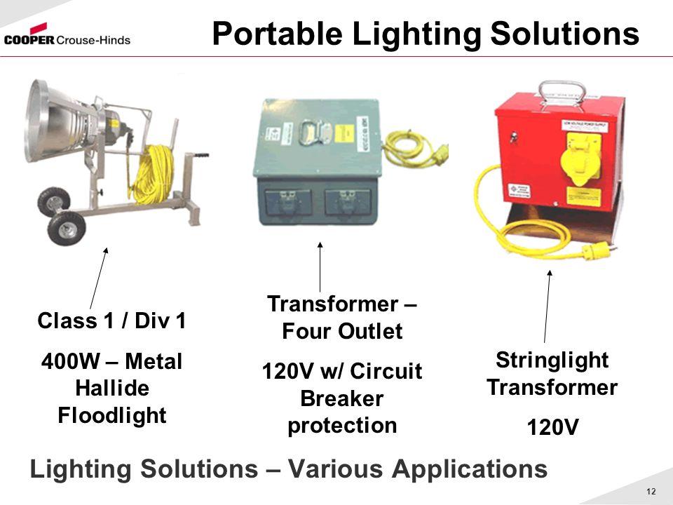 Portable Lighting Solutions